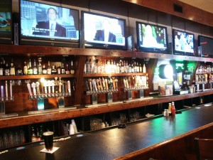 40 craft beers on tap, best burgers, cameron village